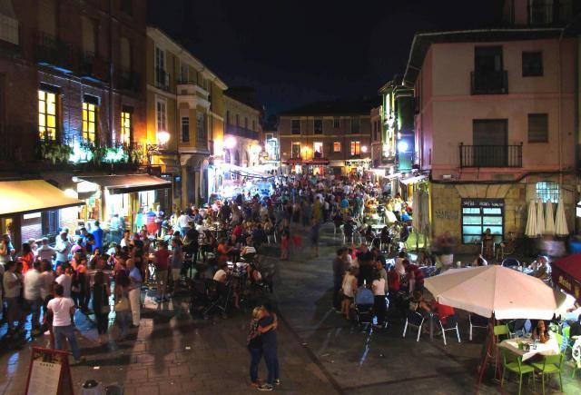 El Barrio Húmedo de León encabeza un ranking a la mejor zona de bares de  España...