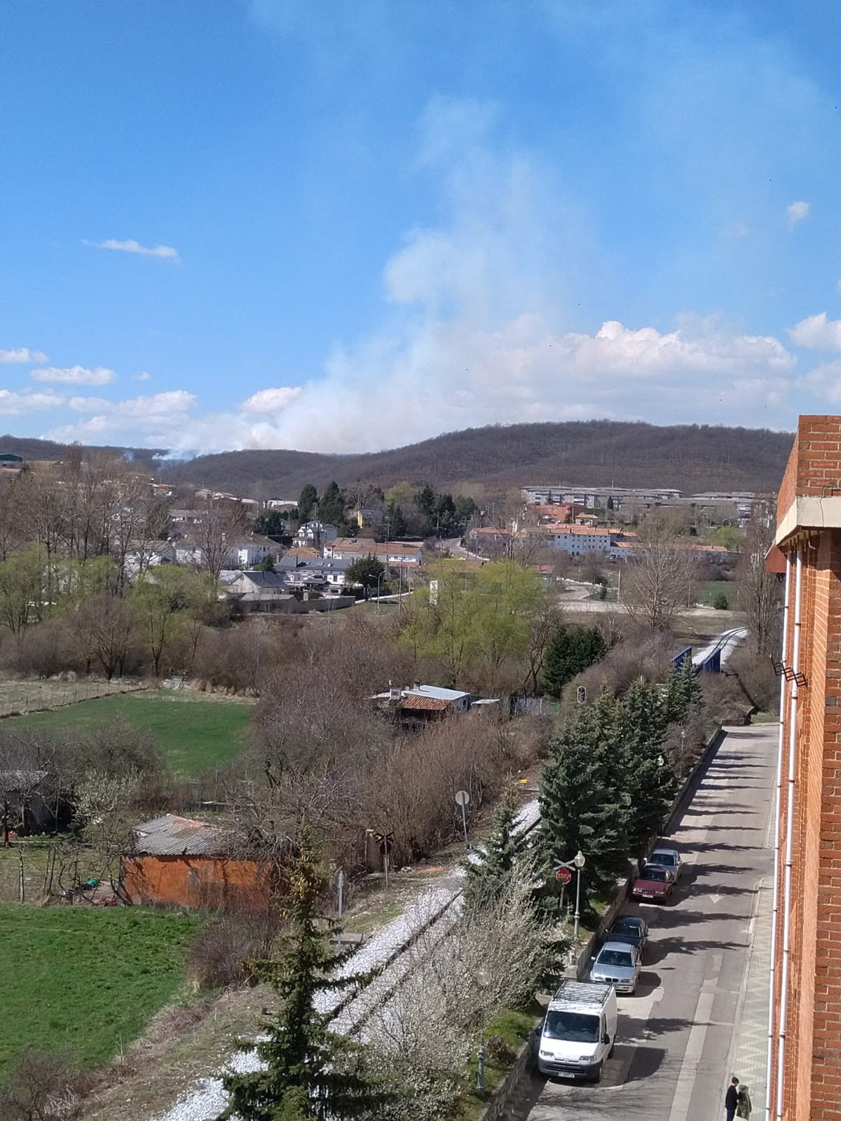 Incendio guardo marzo 1