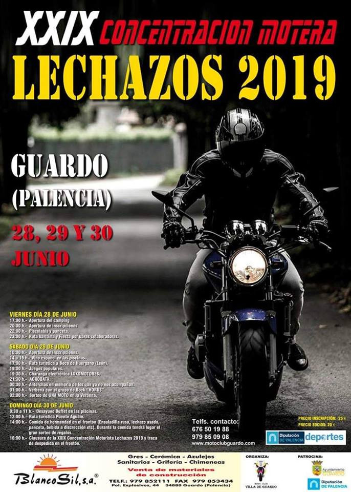 Concentracion motos guardo 1