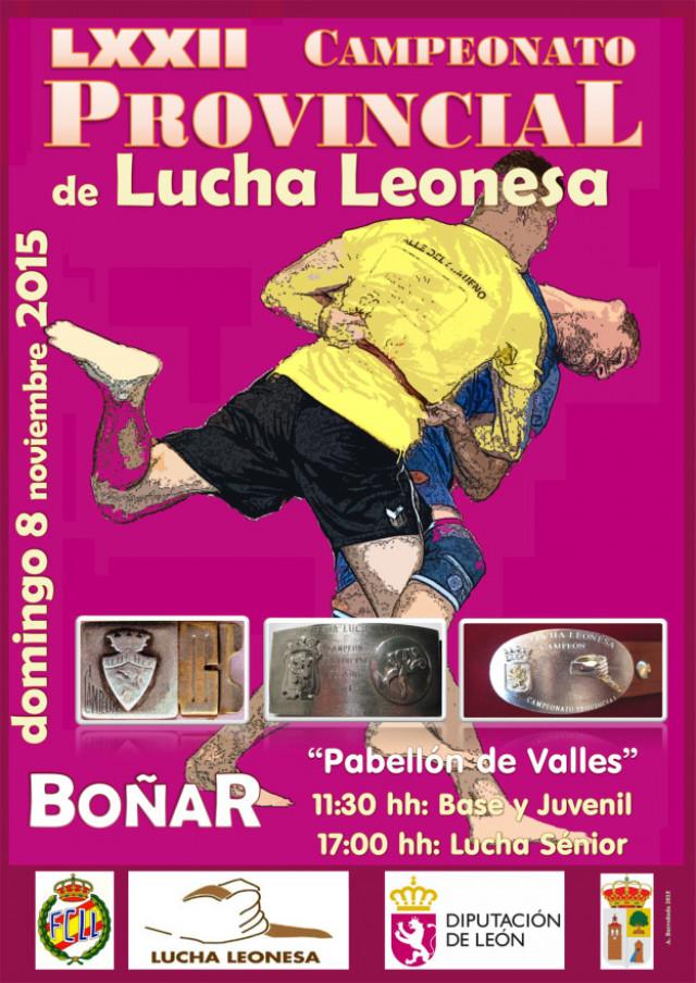 Diario La Chuchi >> Boñar acoge el 8 de noviembre el Campeonato Provincial de Lucha Leonesa 2015