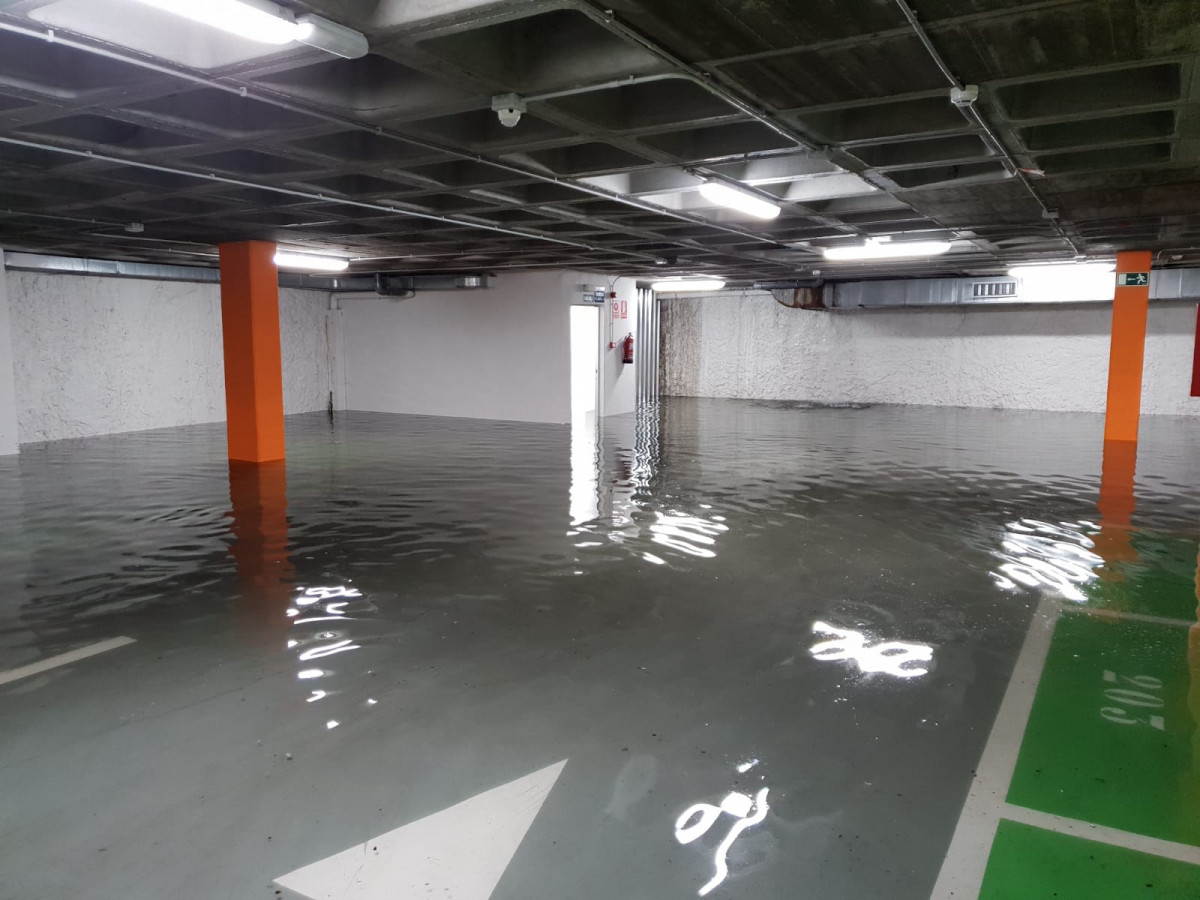 Tormenta parking plaza mayor leon ddv 3