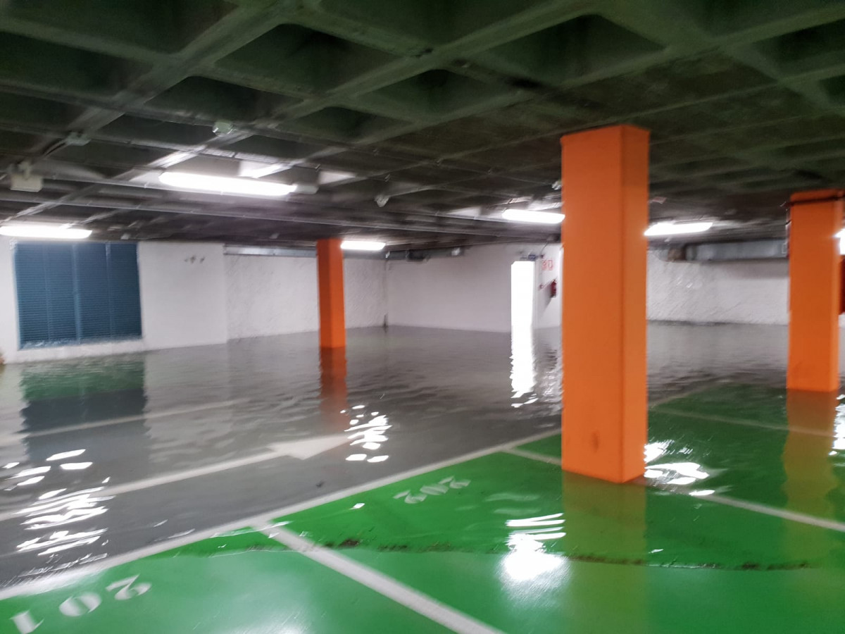 Tormenta parking plaza mayor leon ddv 7
