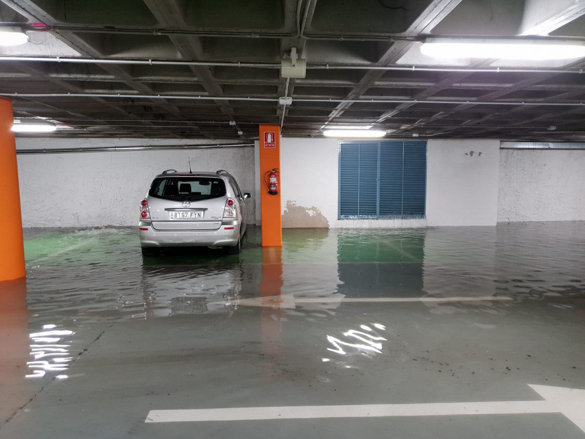 Tormenta parking plaza mayor leon ddv 6