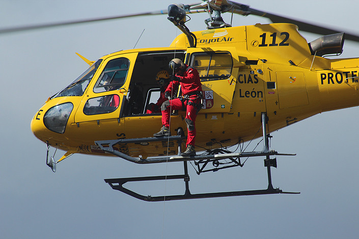 Helicoptero rescate JCyL
