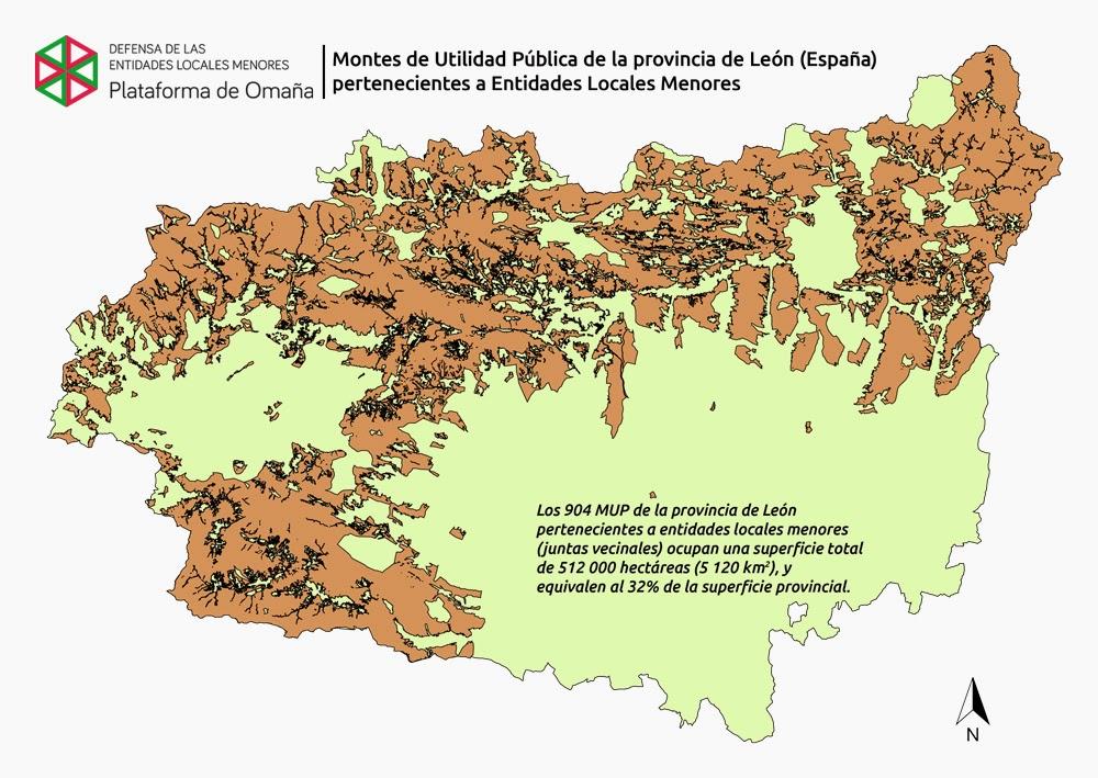 Montes De Leon Mapa.Invierten Mas De 2 3 Millones En La Conservacion Y Mejora De Los Montes De La Provincia De Leon